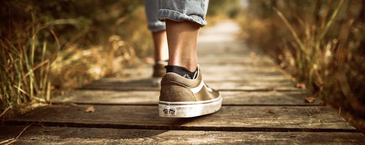 ¿Hacia dónde caminas?