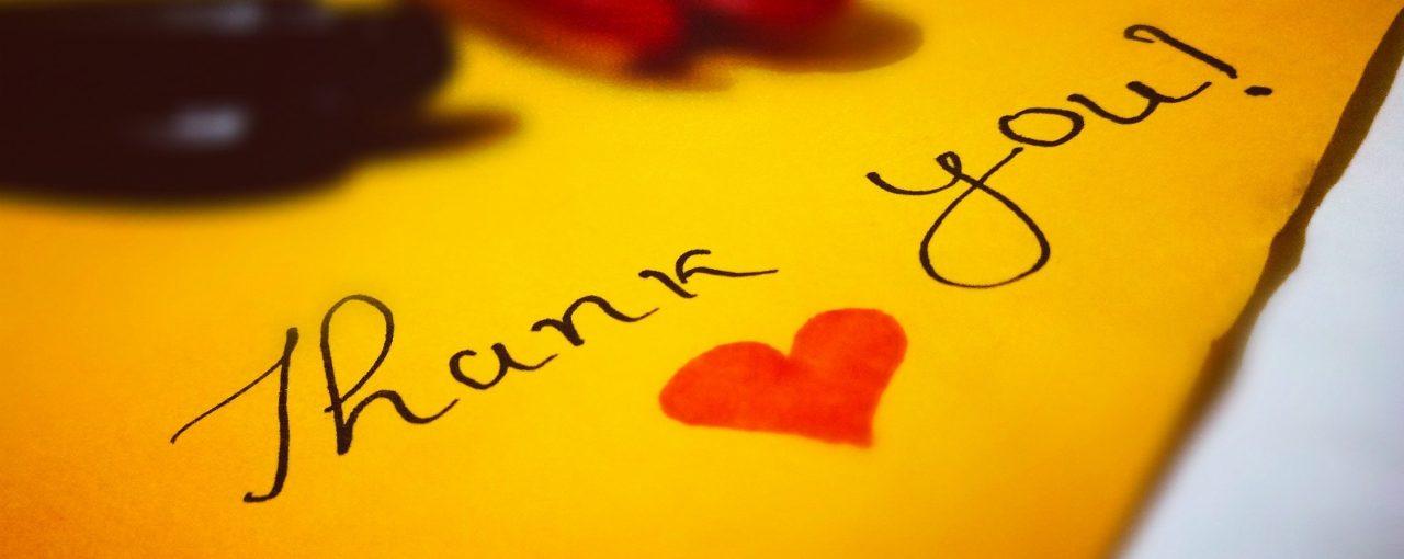 """El poder de la palabra """"Gracias"""""""